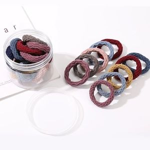 20 pieces / elastic hair band casual various color